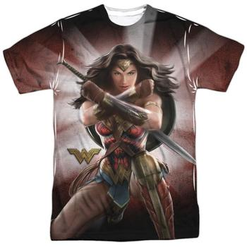 Wonder Woman Movie Protector Of Humanity Adult Sublimated T-Shirt from Warner Bros.