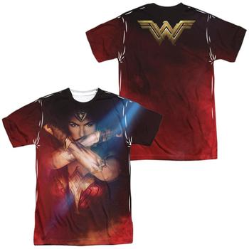 Wonder Woman Movie Power Adult Sublimated T-Shirt from Warner Bros.