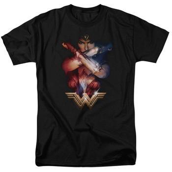 Wonder Woman Movie Power Adult Black T-Shirt from Warner Bros.