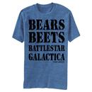 The Office Bears Beets Battlestar Galactica Tshirt