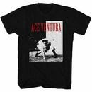 Ace Ventura Ace Mens Black T-Shirt