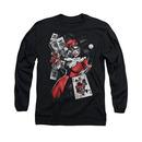 Batman Harley Quinn Smoking Gun Long Sleeve T-Shirt