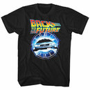 Back To The Future Out Of Time Black T-Shirt