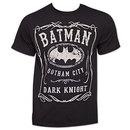 Batman Whiskey-Style Logo TShirt - Black