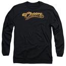 Cheers Cheers Logo Black Long Sleeve T-Shirt