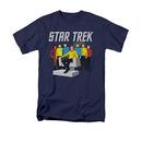 Star Trek Vector Crew Blue T-Shirt