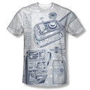 Star Trek Gadgets Gray Sublimation T-Shirt