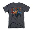 Star Trek Men's Gray Deep Space Thrills Tee Shirt