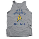 Star Trek USS Enterprise Gray Tank Top