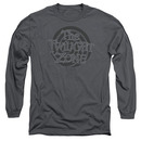 Twilight Zone Spiral Logo Gray Long Sleeve T-Shirt