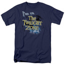 Twilight Zone I'm In The Twilight Zone Blue T-Shirt