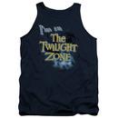 Twilight Zone I'm In The Twilight Zone Blue Tank Top