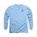 Star Trek Science Uniform Blue Long Sleeve T-Shirt
