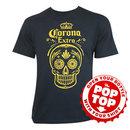 Corona Extra Pop Top Bottle Opener Tee Shirt