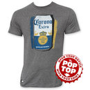 Corona Extra Can Pop Top Bottle Opener Tee Shirt