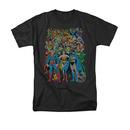 DC Comics Men's Black Original Universe Tee Shirt