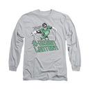 Green Lantern Cosmic Hero Gray Long Sleeve T-Shirt