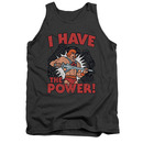 He-Man I Have The Power Gray Tank Top
