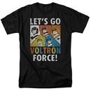 Voltron Lets Go Voltron Force Tshirt