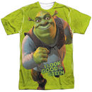 Shrek I Look Good In Green Tshirt