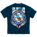 EMS On Call For Life Tee Blue