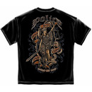 Men's Black Police Without Fear or Favour T-Shirt