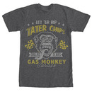 Gas Monkey Garage Tater Chips Gray T-Shirt