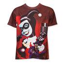 Harley Quinn Sublimated Pistol Tee Shirt