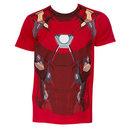 Captain America Civil War Iron Man Suit Costume Shirt