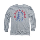Rocky Mighty Mick's Gym Gray Long Sleeve T-Shirt