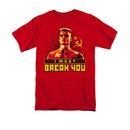 Rocky Ivan I Must Break You Red T-Shirt