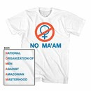 Married With Children No Ma'am White T-Shirt