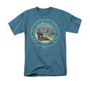 Parks & Recreation Distressed Pawnee Seal Blue Tee Shirt