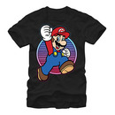 Nintendo Mario Neon Hero Black T-Shirt