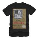 Nintendo Legend Of Zelda NES Gold Cartridge Black T-Shirt