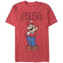 Nintendo Mario Stache Red T-Shirt
