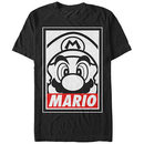 Nintendo Obey Black T-Shirt