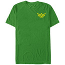 Nintendo Legend of Zelda Hyrule Grade Green T-Shirt