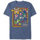 Nintendo Mario Mario Collection Blue T-Shirt
