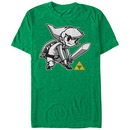 Nintendo Legend of Zelda Links Brave Green T-Shirt