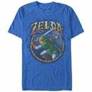 Nintendo Legend of Zelda Groove Link ROY T-Shirt