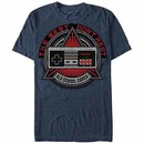 Nintendo Old School Shield Blue T-Shirt