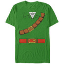 Nintendo Legend of Zelda Link Belt Green T-Shirt