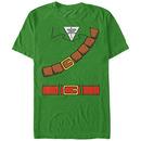 Nintendo Legend of Zelda Link Belt Green T-Shirt