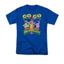 Power Rangers Men's Blue Go Go Tee Shirt