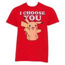 Pokemon Pikachu I Choose You Tee Shirt