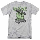 Sesame Street Canned Grouch Gray T-Shirt