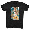 Street Fighter Dual Chun Li Black T-Shirt