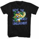 Street Fighter Beast Unleashed Black T-Shirt