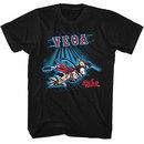 Street Fighter Vega Fence Black T-Shirt